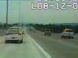 Car crashes into bridge at high speed