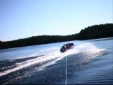 Water skiing accident taped by skier