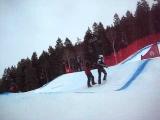 ski cross crash womans worlds deer valley utah 2011