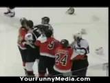 worst hockey fight ever