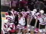 Flyers / Devils 1987 Brawl: Ron Hextall vs Alain Chevrier