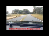 Wildest Police Chase with Motorcycle, Cop Crashes