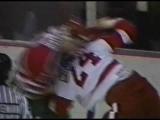 Troy Crowder vs Bob Probert Round 1 Jan 28, 1991
