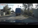 Road accident compilation (in car cam) part 1