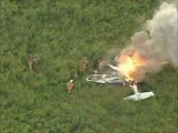 Plane crashes in to Field! Part 1