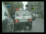 Russian police chase / shooting VS. BMW525