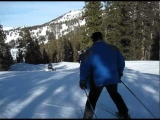 AWEFUL SKI CRASH – Last Run Brighton Utah 2009 ENDS IN CRASH