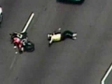Court TV : Motorcycle Police Chase Crash