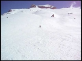 Funny Skiing Accident: Idiot Absolute Idiot!