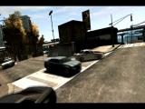 Police chases a drifting Nissan GTR (GTA IV Drifting)