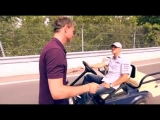 Vettel Schumacher Coulthard Joking in Canada F1 Grand Prix 2011 – Carjam Radio
