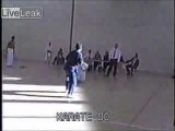 Karate Do Full contact point fighting goes WRONG!