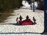 Ski Liberty man falls off chair lift