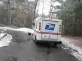 Turkey attacks mail truck on Cape Cod