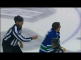 Boris Valabik vs Rick Rypien Dec 10, 2009 – Canucks TV feed