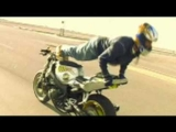 Motorcycle Stunt Video (The Islander)