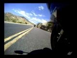 Motorcycle ride w/ Wipeout crash ending