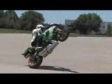 Motorcycle Stunts Dan Jackson Alpinestars Stunt Demo