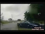 police chase and shoot-out