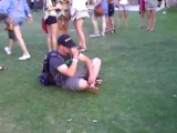 Wasted guy at Coachella 2010 – FRIDAY