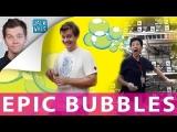 EPIC BUBBLES PRANK! -Blowing Bubbles 5