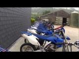Dirt biking in Wales 2012