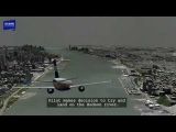 Hudson River Plane Landing (US Airways 1549) Animation with Audio