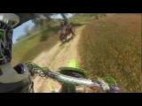 Kawasaki KX 125 Trail Blazing + CRASH