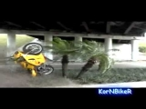 Motorbike Stunts Gone Wrong