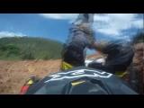 Go Pro HD Dirt Bike Hill Climb Fail