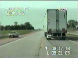 Police Chase and Shootout with Child Molester in Semi Truck