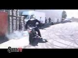 JASON PULLEN Harley Motorcycle Stunt Rider