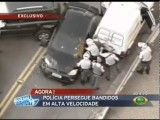 Brazilian Police Chase – Running Over , many shots, In So Paulo – BR