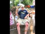John's Dirtbike Wipeout!