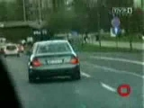 Polish Police  Car Chase