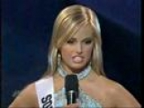 Uhhh…what did she just say?? Miss Teen South Carolina 2007