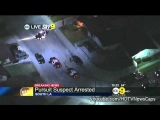 Wild police chase – suspect crashes into police car – May 21, 2012