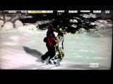 HUGE snowmobile crash – winter X-GAMES 2012 snowmobile free