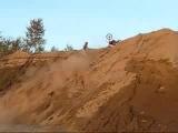 ktm hill climb wipeout