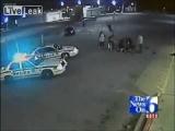 Caught On Tape: Armed Robber Taken Down By Hero Customer