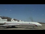 TU-154 RA-85563 Almost Crash! (subtitles)