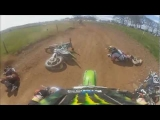 BIG Dirt Bike Wipeout! 2 Riders Collide!