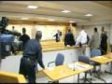 David's Video Blog:  Violent Courtroom Outburst
