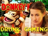 Drunk Gaming – Donkey Kong Country!!