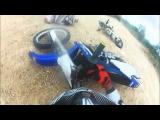 Go Pro HD: The Twin Dirt Bike Wipeout
