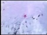 Extreme Mountain Ski Accident