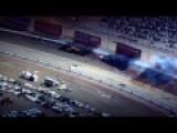 Indy Car Las Vegas Race Crash 2011 HD in normal & slow motion