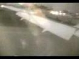 Boeing 767 Airplane Crash from Inside