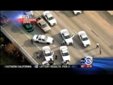 Houston, Texas Police chase crash and arrest unfolds on live tv [HD]