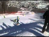 Ski Cross Crash